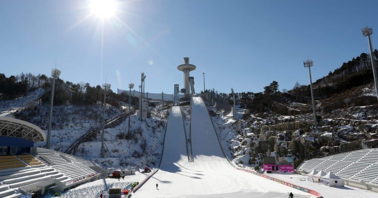 Sobotni konkurs olimpijski skoków narciarskich. Odbierz bonus!