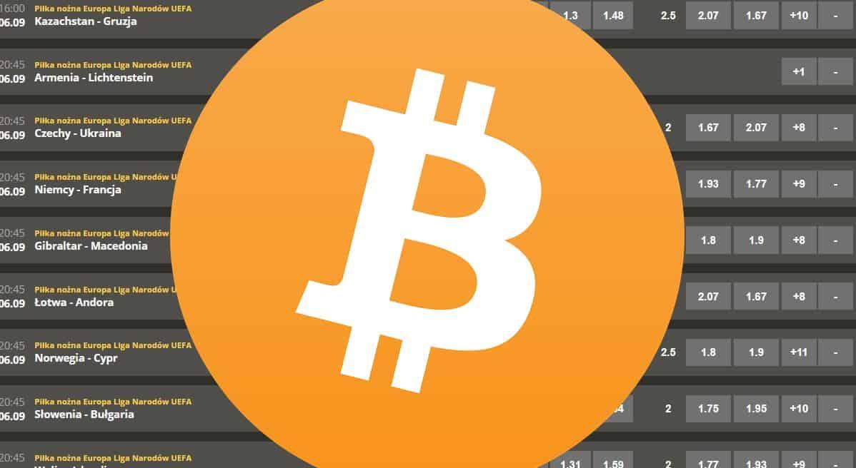 Płacenie bitcoinami u bukmacherów
