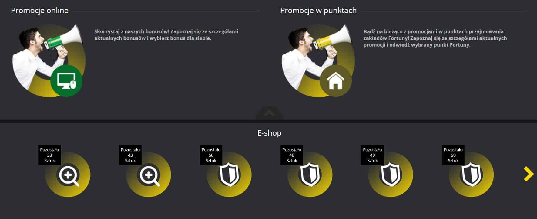 Fortuna Online. Promocje bukmacherskie