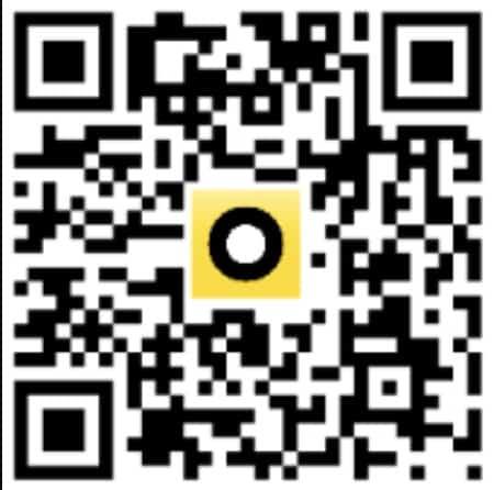 kod QR do pobrania aplikacji Fortuna