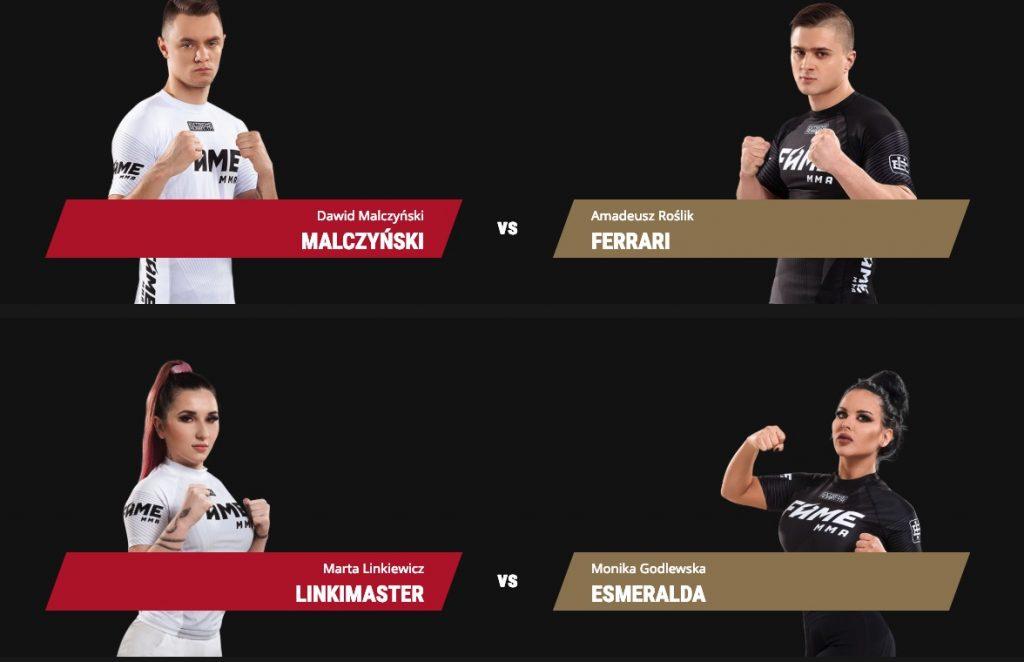 Gala FAME MMA 3. Kto walczy? [LinkiMaster vs. Godlewska]