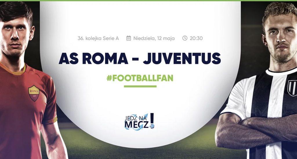 Wygraj wyjazd na mecz Roma - Juventus w Forbet!