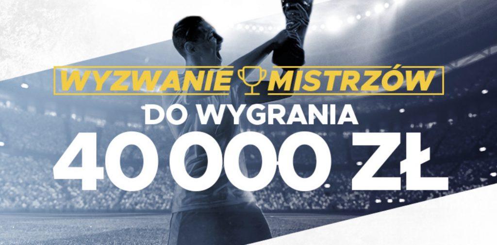 Bonusy, pieniądze, bilety VIP - Wyzwanie Mistrzów pełne nagród!