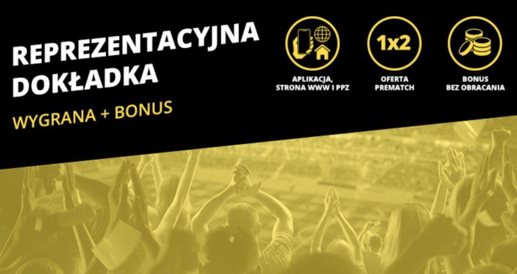 Bonusy w Fortunie na mecz Słowenia - Polska